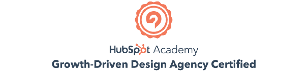 Growth Driven Design Agency Certified