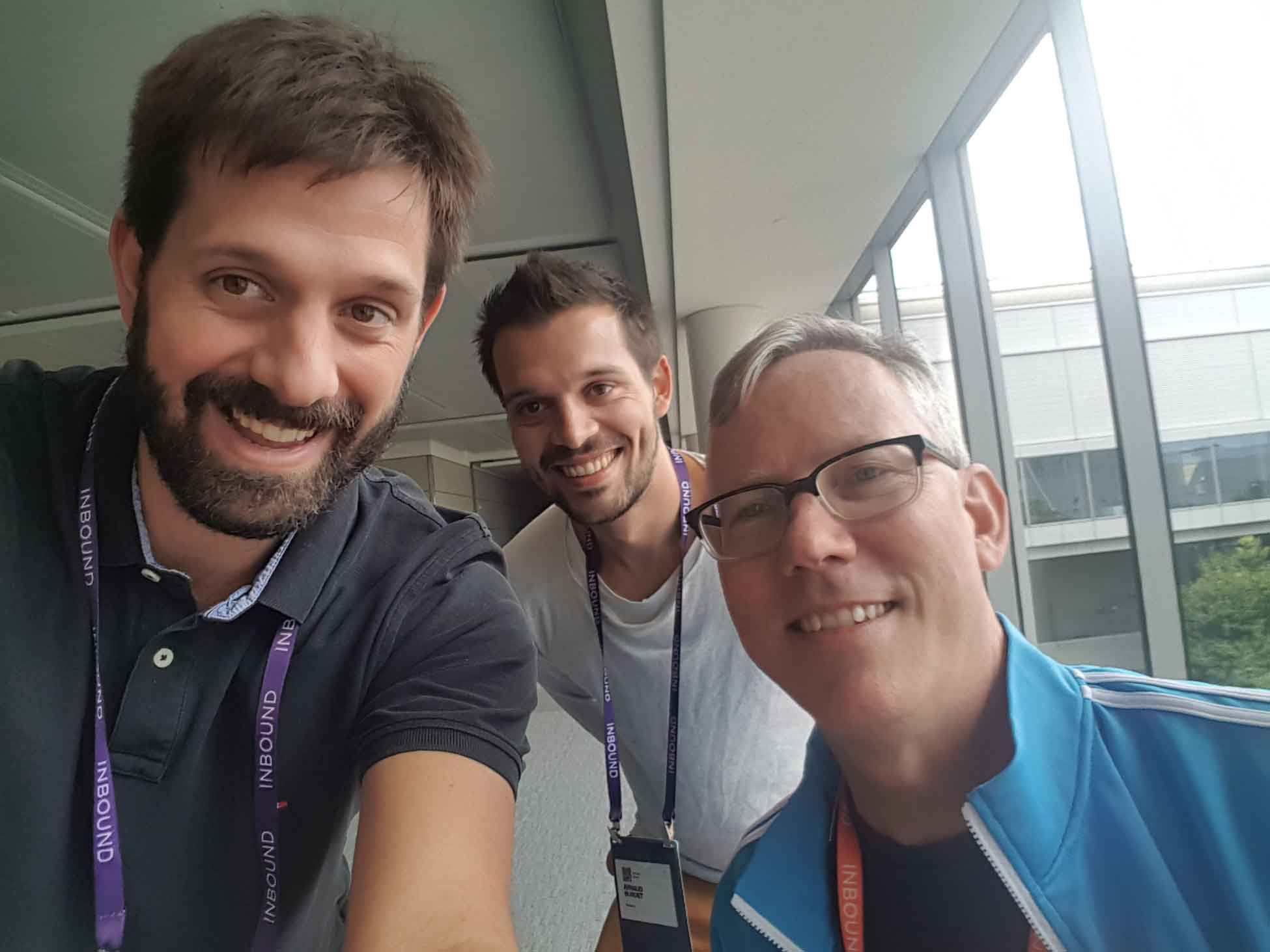 Loic Arnaud et Brian Halligan CEO Hubspot