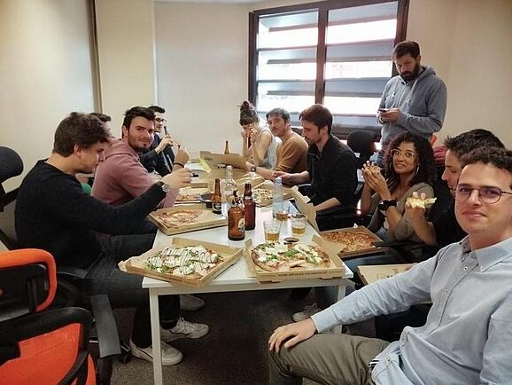 Repas-Pizza