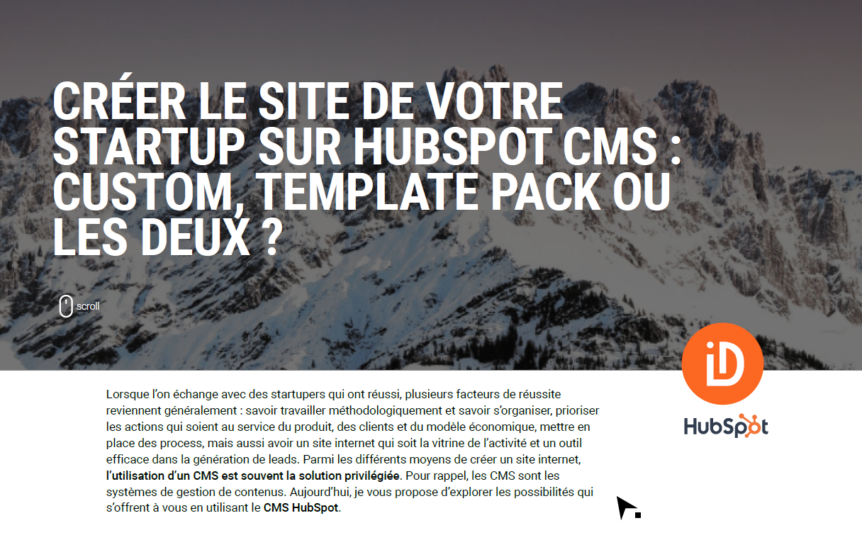 Cover-Infogrpahie-Creer-site-startup-HubSpot-CMS
